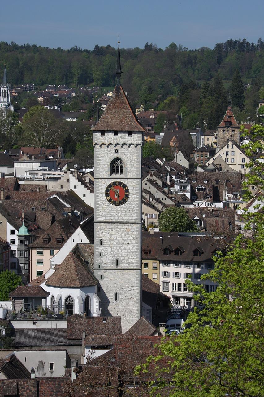 schaffhausen, overview, city-82536.jpg